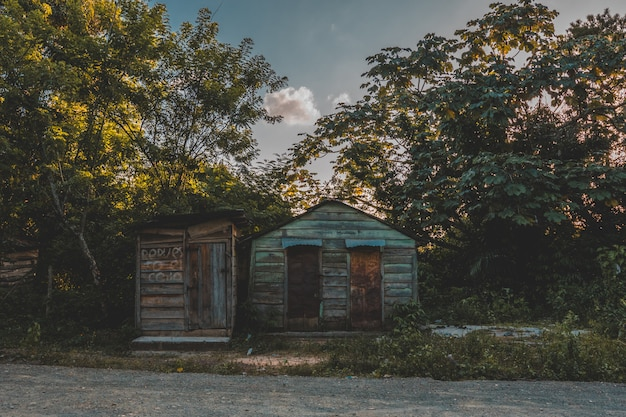 Casa típica dominicana Foto Premium