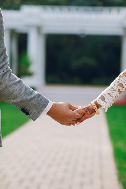 Casamento indiano elegante Foto gratuita