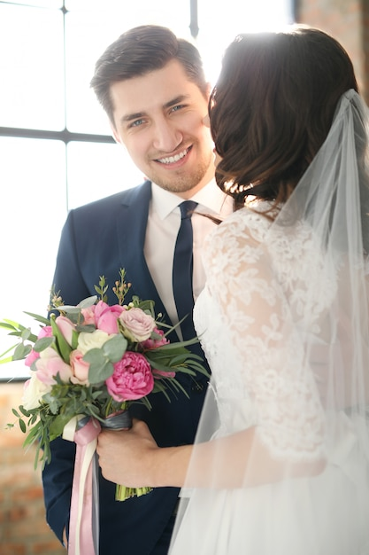 Casamento, noiva e noivo Foto gratuita