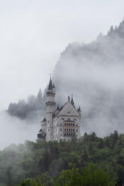 Castelo de neuschwanstein na alemanha Foto Premium