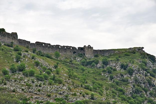 Castelo de shkodra na albânia, balcãs Foto Premium