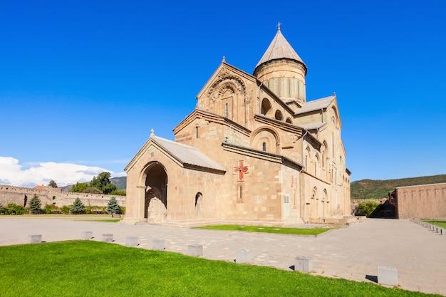 Catedral de svetitsjoveli, mtskheta Foto Premium