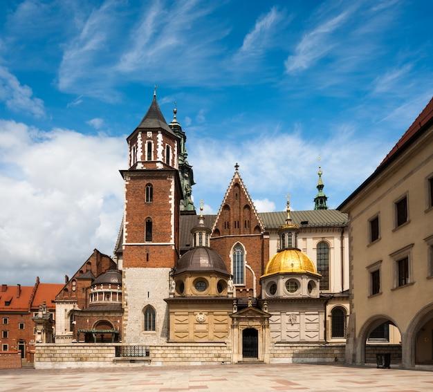 Catedral de wawel em cracóvia, polônia Foto Premium