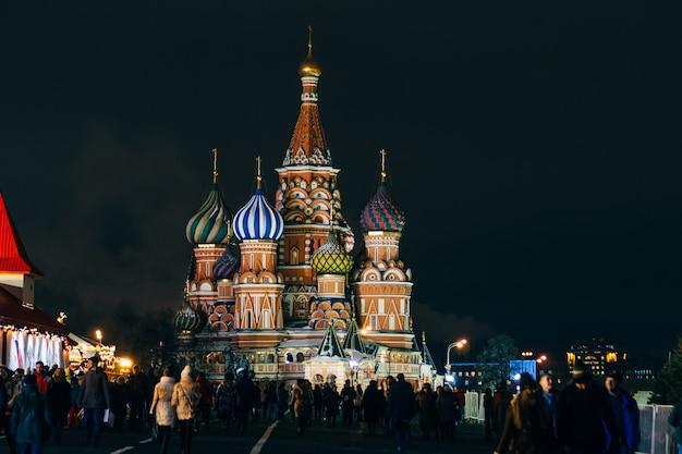 Catedral em moscou, rússia Foto Premium
