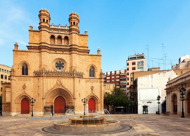 Catedral gótica de castellon de la plana, espanha Foto gratuita