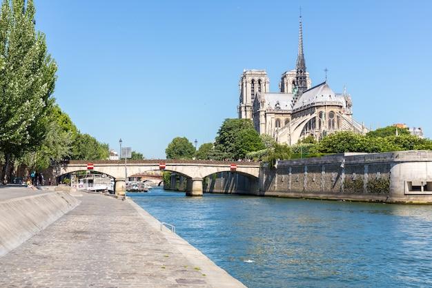 Catedral notre dame de paris Foto Premium