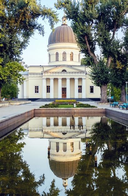 Catedral principal de chisinau Foto Premium