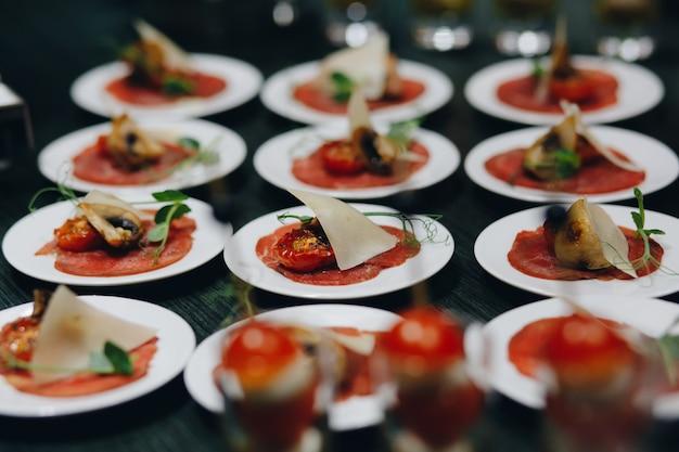 Catering para festas Foto Premium