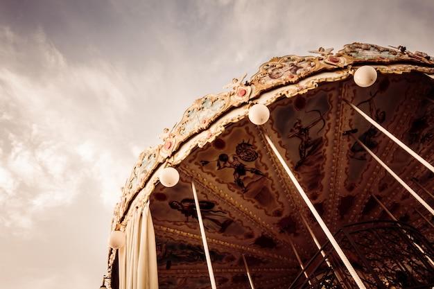 Cavalo de carrossel Foto gratuita