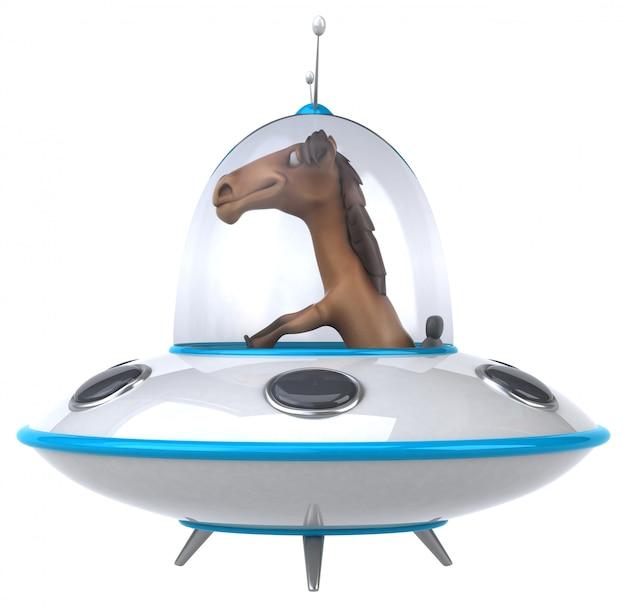 Cavalo divertido Foto Premium
