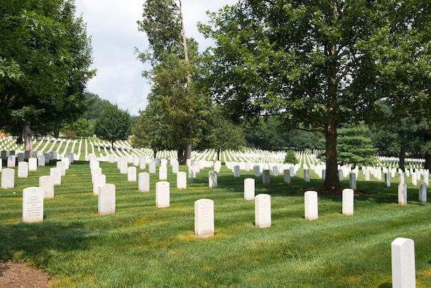 Cemitério nacional de arlington Foto gratuita