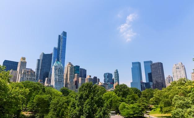 Central park manhattan nova iorque eua Foto Premium