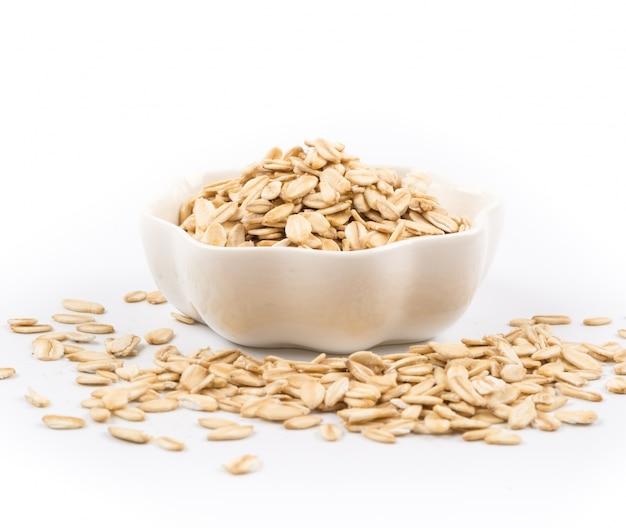 Cereais saudáveis para o pequeno almoço Foto gratuita