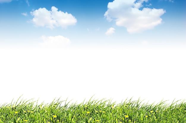 Céu com nuvens Foto gratuita