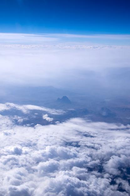 Céu e nuvens Foto Premium