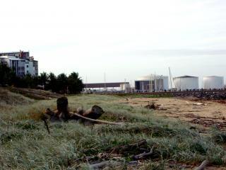 Céu industrial, Foto gratuita