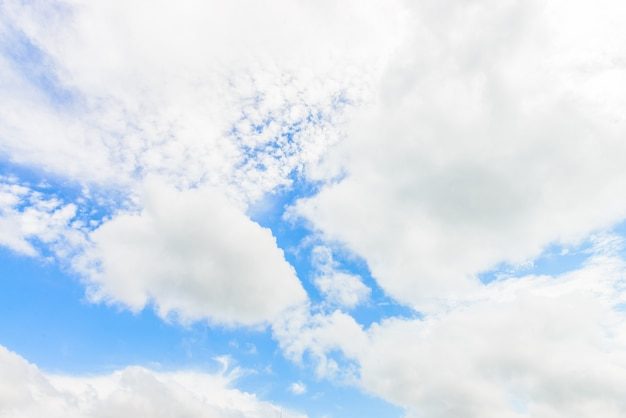 Céu nublado Foto gratuita
