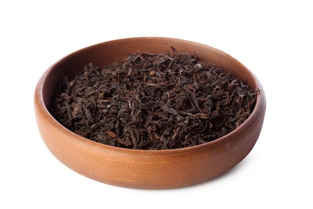 Chá isolado no branco Foto Premium