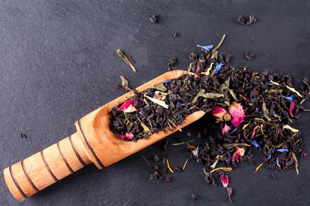 Chá verde de bergamota Foto Premium