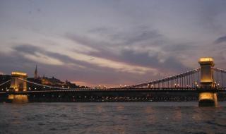 Chainbridge em budapeste, hungria Foto gratuita