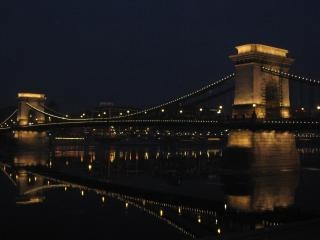 Chainbridge em budapeste Foto gratuita