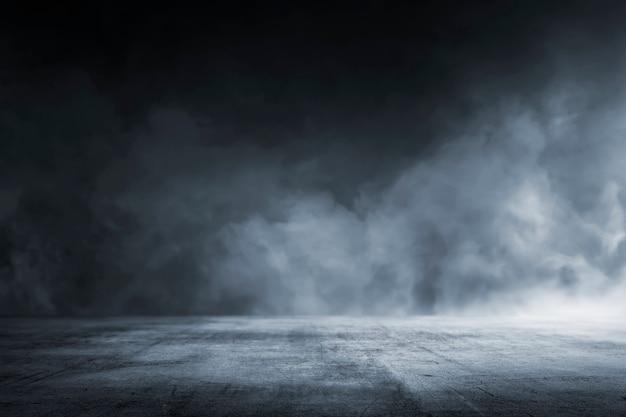 Chão de concreto escuro de textura Foto Premium
