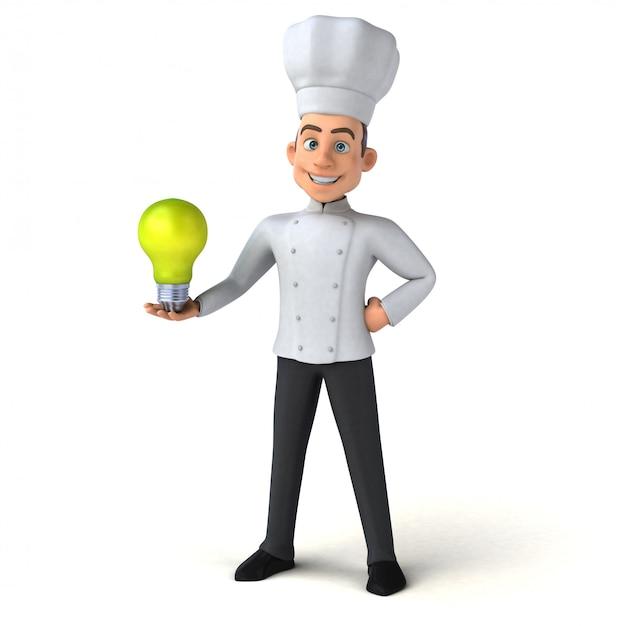 Chef divertido Foto Premium