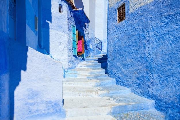 Chefchaouen em marrocos Foto Premium