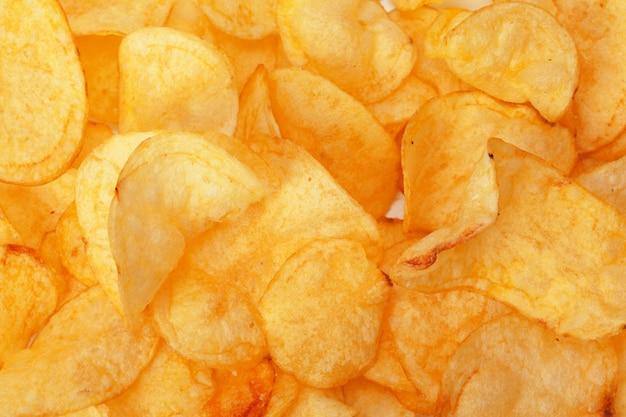 Chips close-up Foto Premium