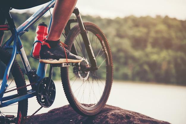 Ciclista Foto gratuita