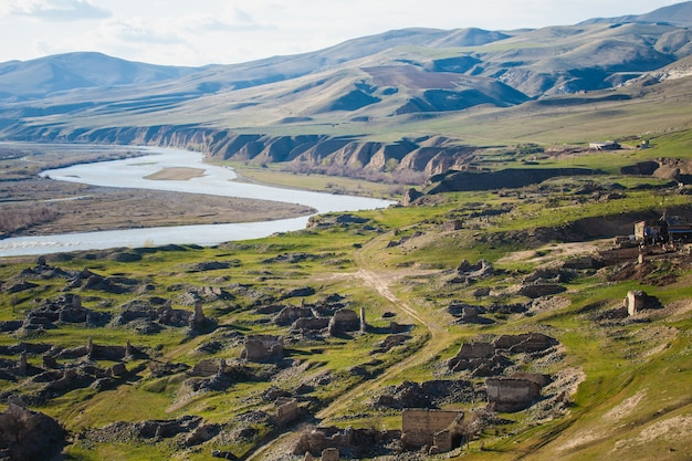 Cidade antiga de uplistsikhe na geórgia Foto gratuita