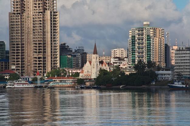 Cidade de dar es salaam na tanzânia Foto Premium