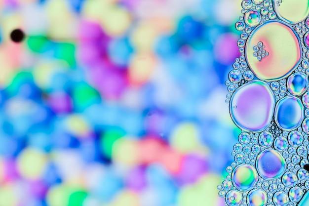 Cima, quadro, com, bolhas Foto gratuita