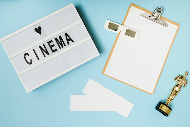 Cinema ainda vida Foto gratuita