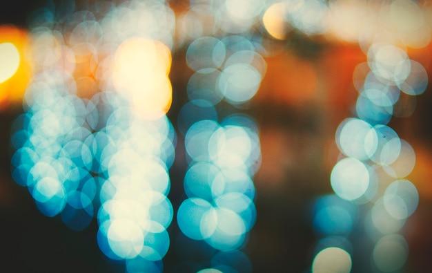 City light nightlife defocused blurred conceito abstrato brilhante Foto gratuita