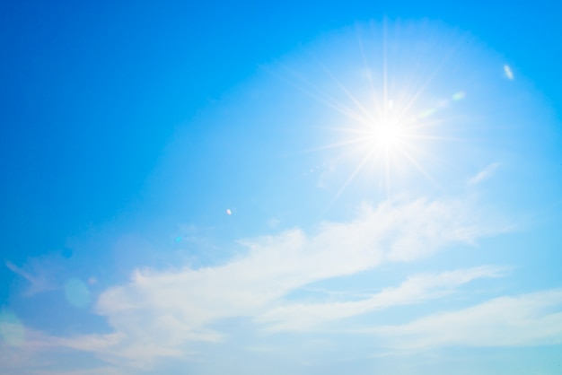 Clarão do sol Foto gratuita