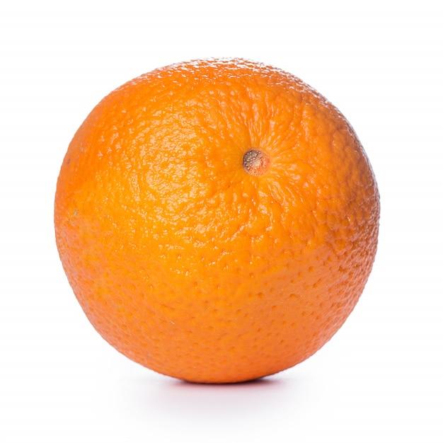 Close de uma laranja Foto gratuita