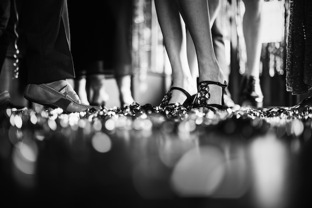 Close up da pista de dança Foto gratuita
