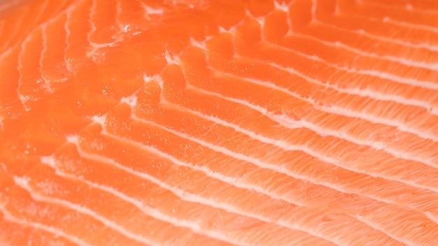 Close-up, de, freshly, corte, peixe Foto gratuita