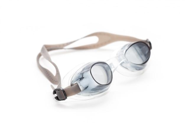 Close up de óculos de natação Foto Premium
