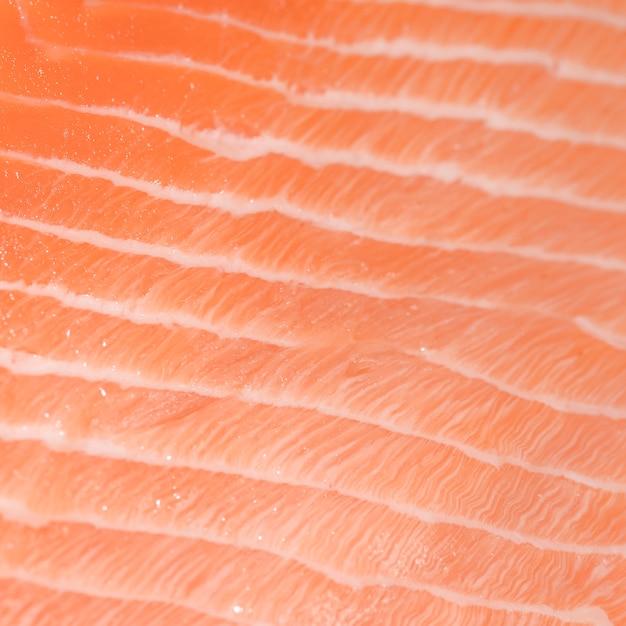 Close-up, de, peixe fresco, carne Foto gratuita