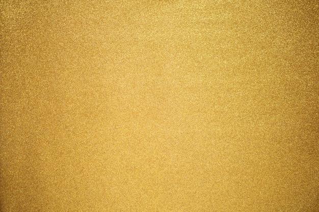 Close up de textura de glitter dourado Foto Premium