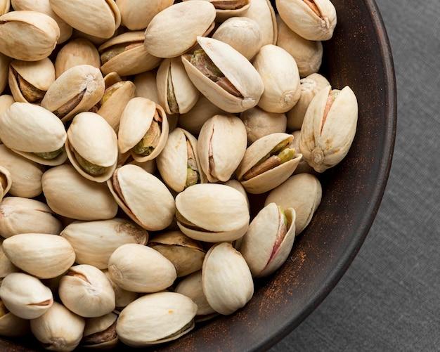 Close-up do conceito de pistache Foto Premium