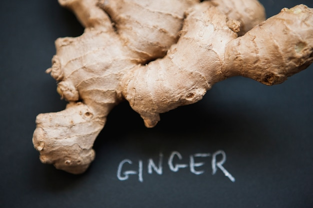 Close-up ginger root Foto gratuita