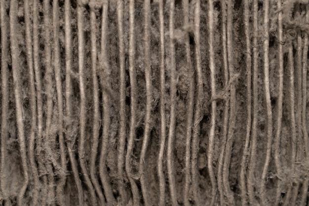 Close-up na poeira do filtro de ar condicionado Foto Premium