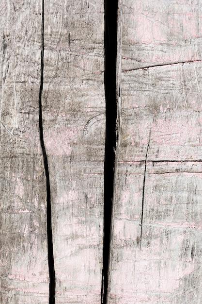 Close-up preto e branco textura de madeira antiga Foto gratuita