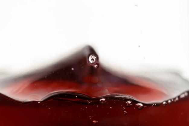 Close-up, respingue, de, vinho tinto Foto gratuita