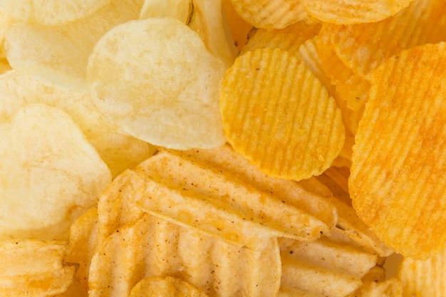 Closeup alimento calories fundo batata Foto gratuita