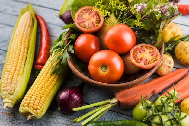 Closeup colheita deliciosa Foto gratuita