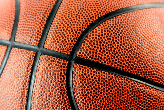 Closeup de basquete Foto gratuita